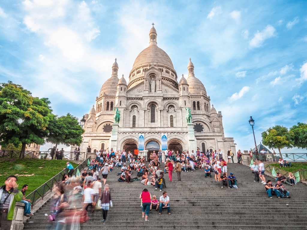 Sacre-Coeur in Paris.